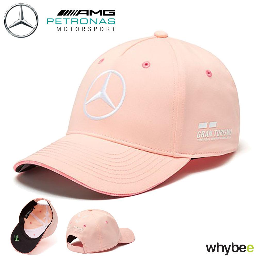 Sentinel Lewis Hamilton Monaco GP Cap Pink Peach 2018 F1 Grand Prix Puma  Special Edition 51b368db818