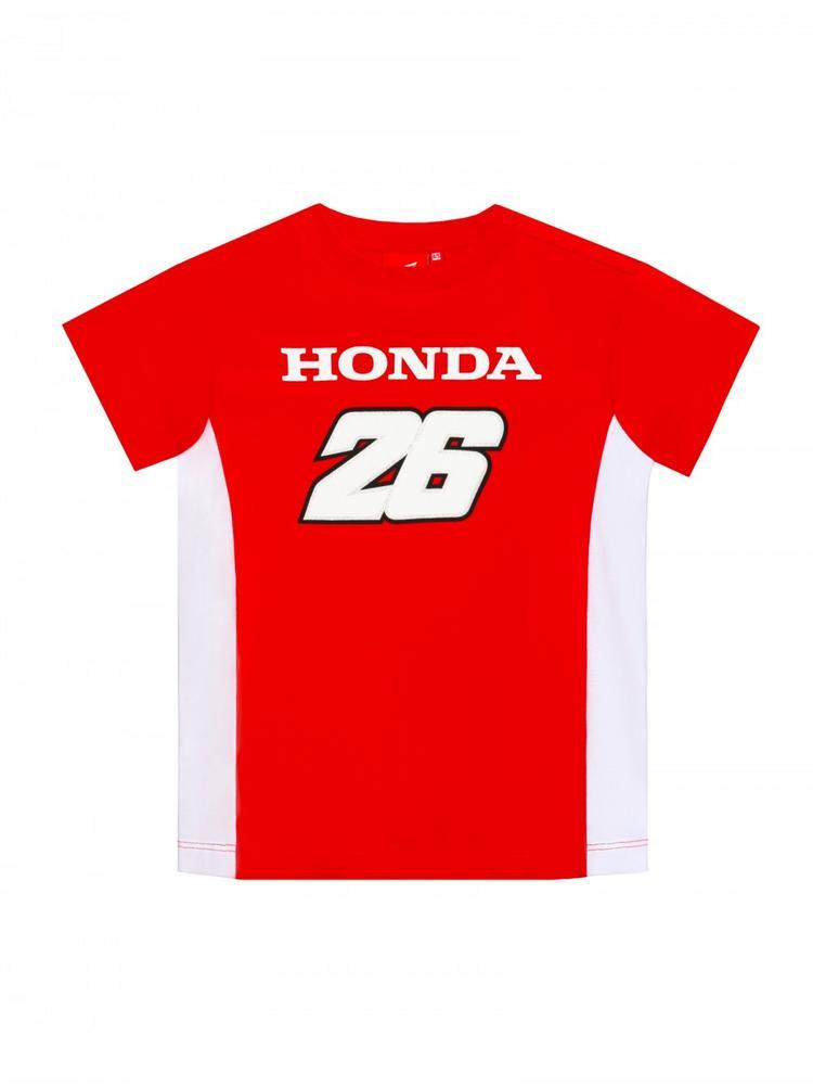 2018 Honda Team Dani Pedrosa #26 MotoGP Kids Childrens T-Shirt Tee Ages 2-11