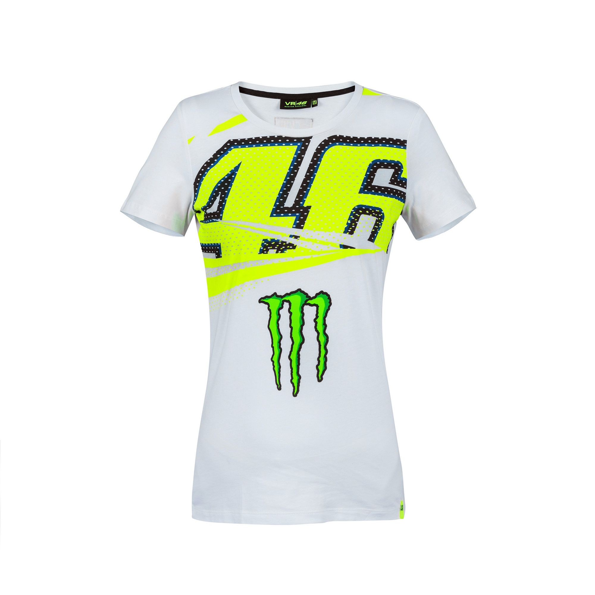 bcb78202 Sentinel 2018 VR46 Valentino Rossi #46 MotoGP Ladies Womens T-Shirt Tee  Monster Energy