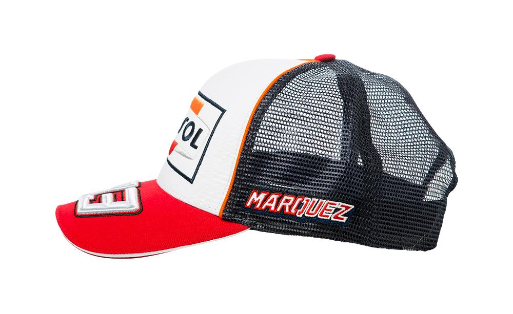 Sentinel 2018 Marc Marquez  93 Adult Baseball Cap White Official Repsol  Honda MotoGP 3e44211c3157