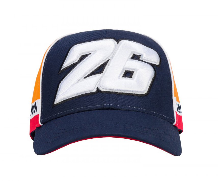 d08680f68e78c 2018 Dani Pedrosa  26 Adult Baseball Cap Blue Official Repsol Honda MotoGP