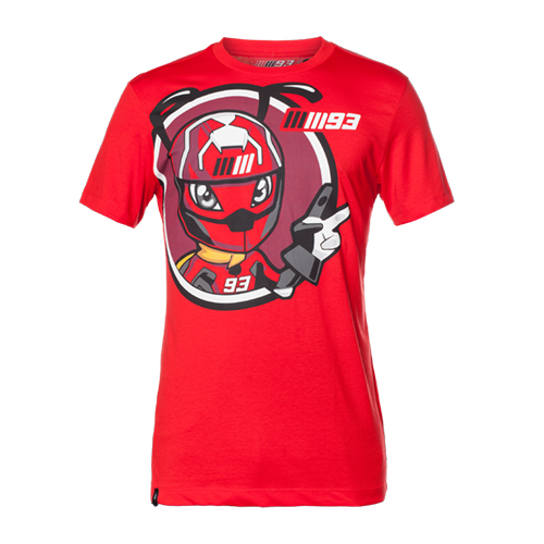 Sale! Marc Marquez #93 ANT TEE Honda MotoGP Mens T-Shirt MM93 Official Product