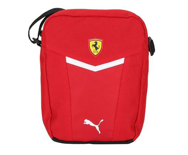 97af9fe8ed7b Details about New! Ferrari Puma Formula One Team RED Portable Shoulder Bag  for Leisure Travel