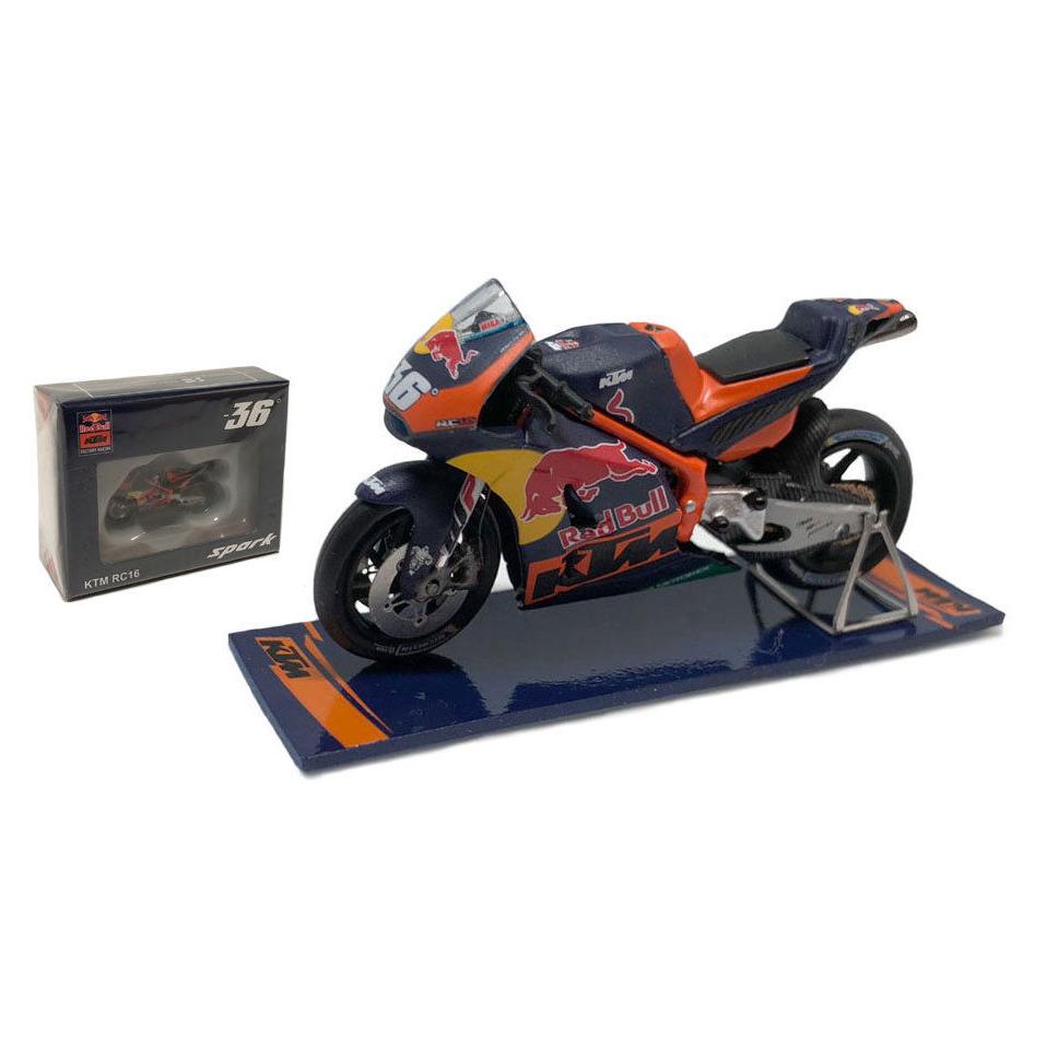 Mika Kallio #36 Spanish GP KTM RC16 Red Bull MotoGP 1/43 Scale Model in Box
