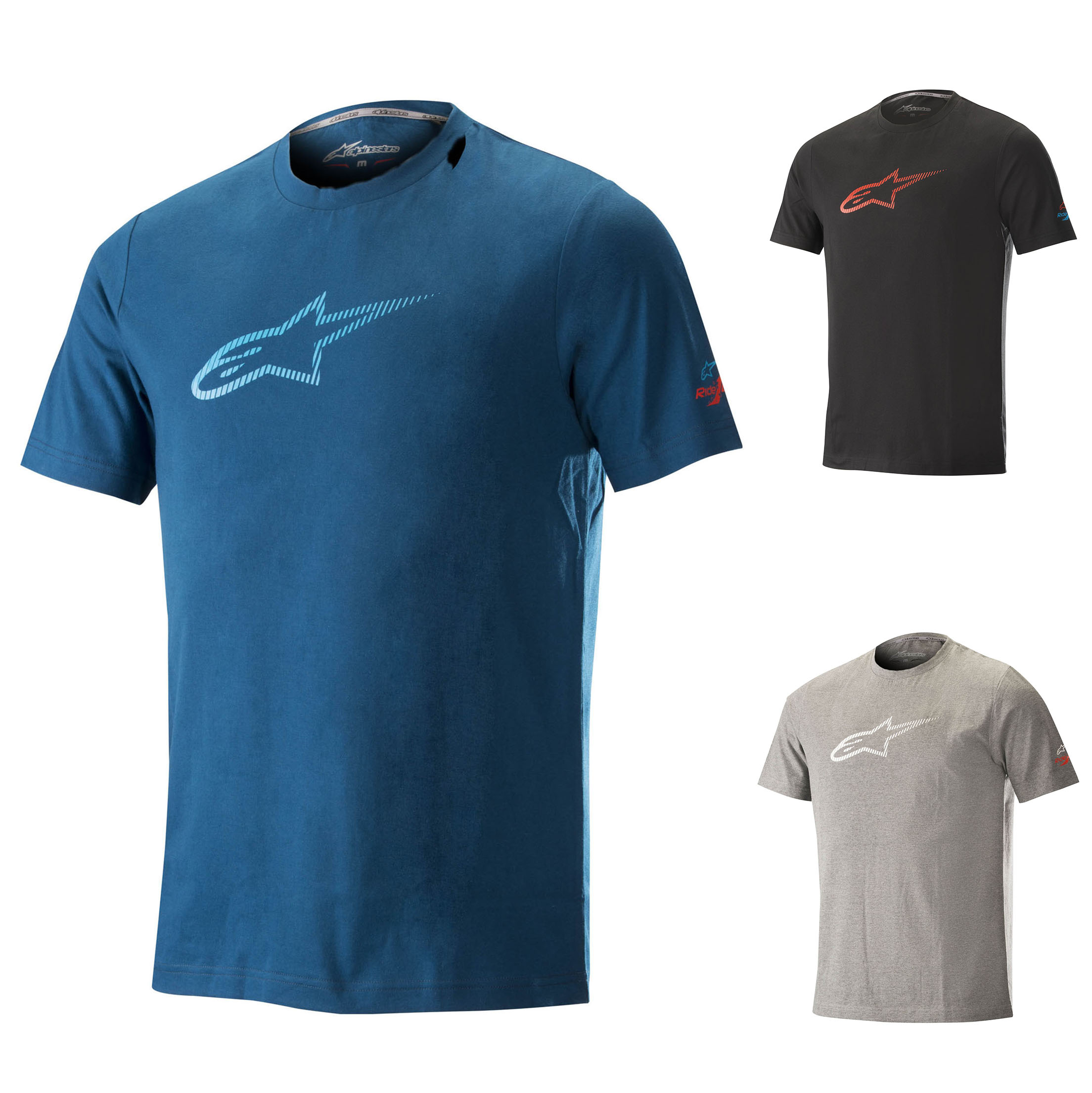 Sentinel 1100018 Alpinestars Mens Ageless Tech MTB Tee T-Shirt Downhill  Mountain Biking b88c7e069