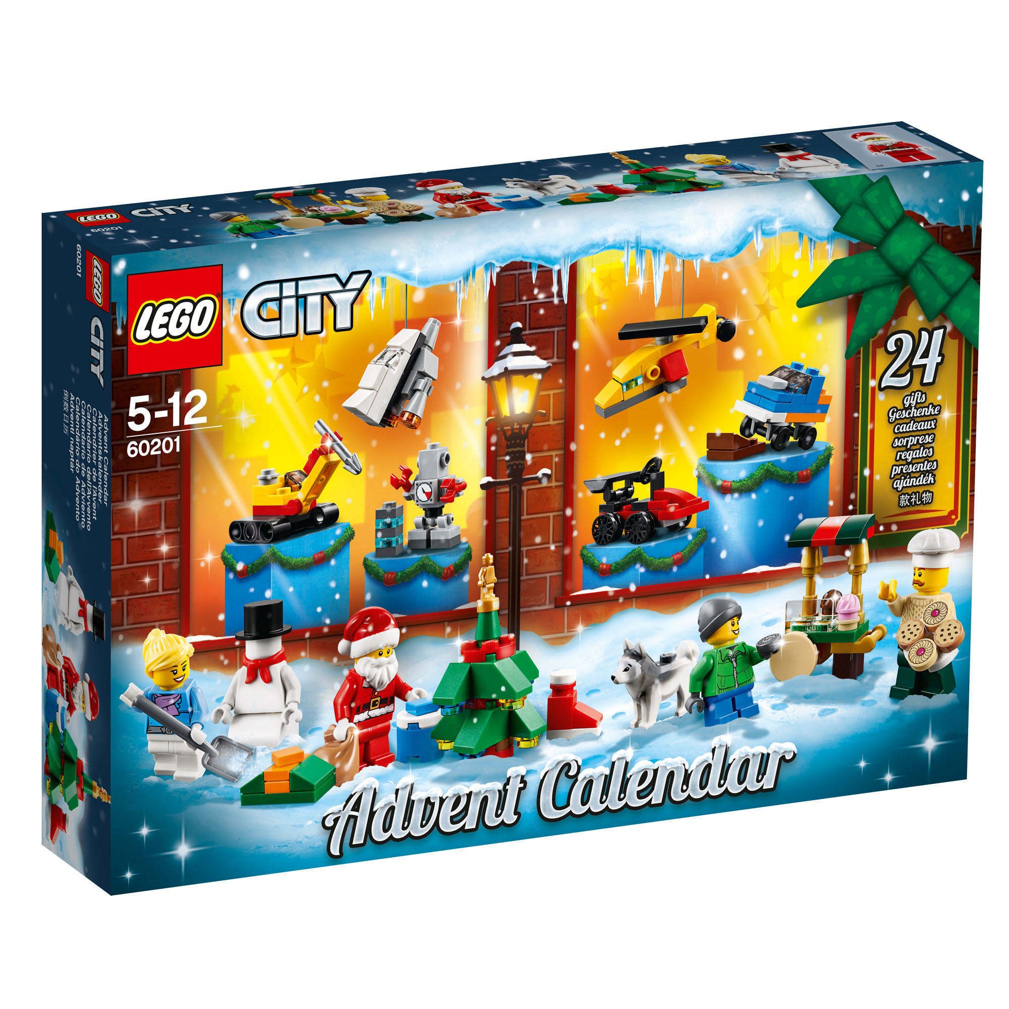 firefox naptár 60201 LEGO CITY 2018 Advent Calendar 24 Doors to Open 313 Pieces  firefox naptár