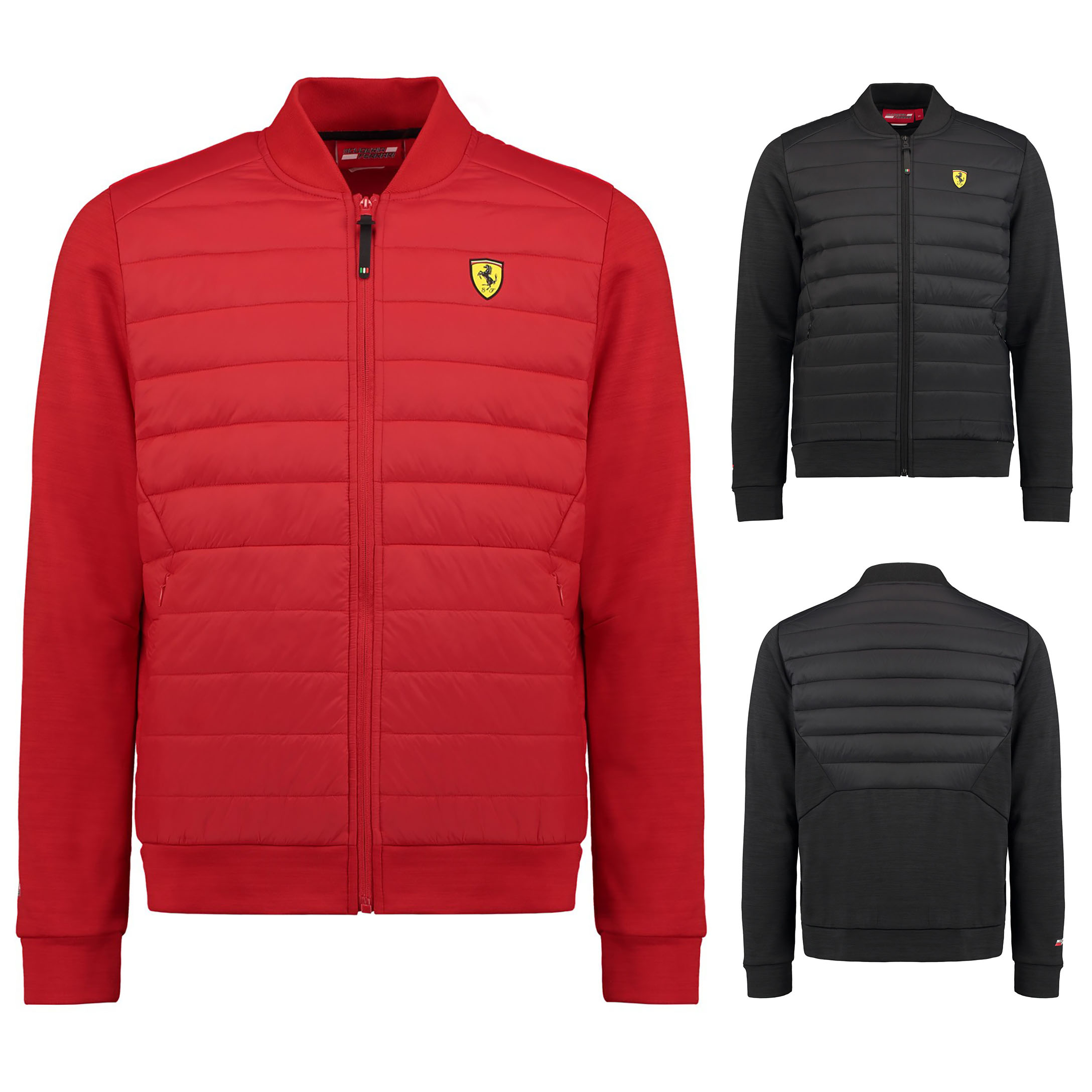 7904ddd4bd 2018 Scuderia Ferrari Mens Bomber Jacket Coat Sizes XS-XXL Official  Merchandise