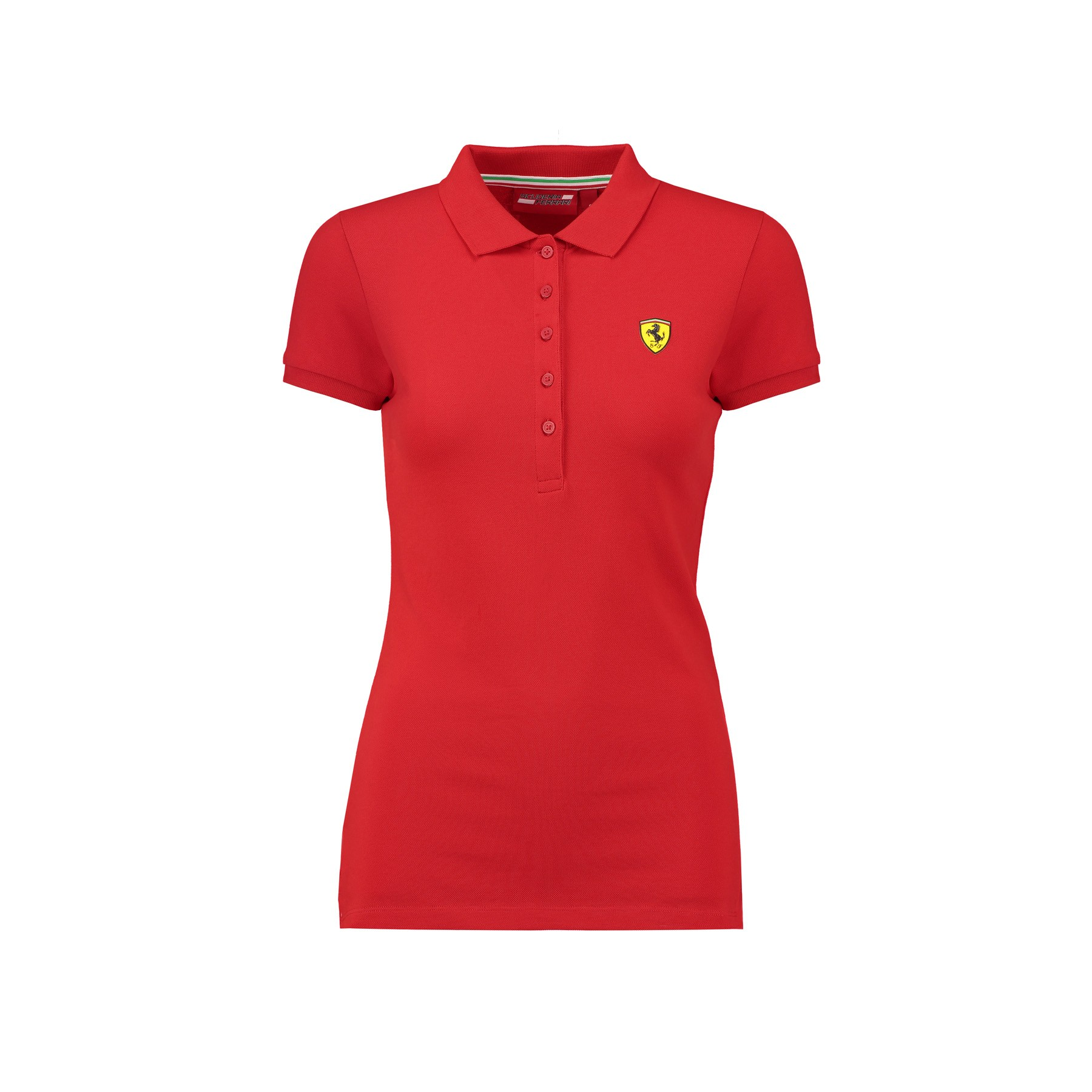 1e3e3d192 Sentinel 2018 Scuderia Ferrari Womens Ladies Classic Polo Shirt in Cotton  Sizes XXS-XL