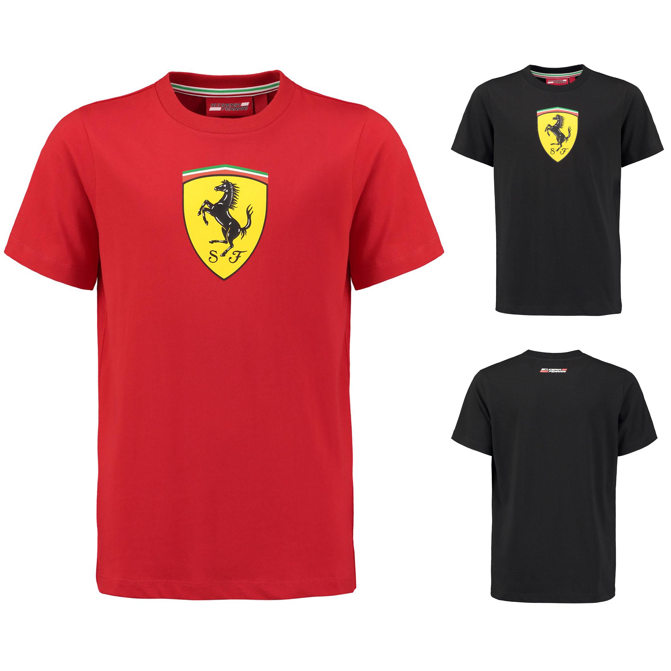 Red Ferrari Scuderia Kids Classic T-Shirt 2018