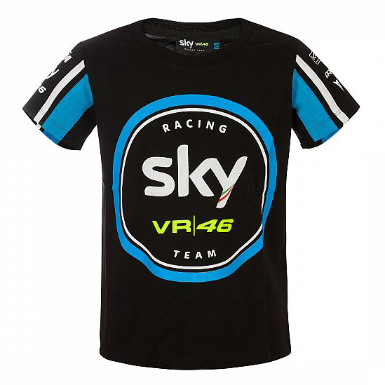 Sale! VR46 Valentino Rossi #46 Kids Childrens T-Shirt Tee MotoGP Sky Racing Team