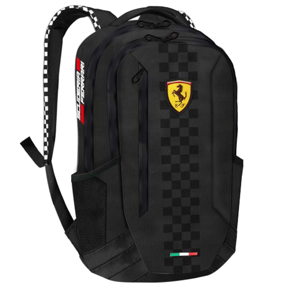 5f24e69135 Sentinel 2018 Scuderia Ferrari F1 Formula One Large BLACK Rucksack Backpack  Shoulder Bag