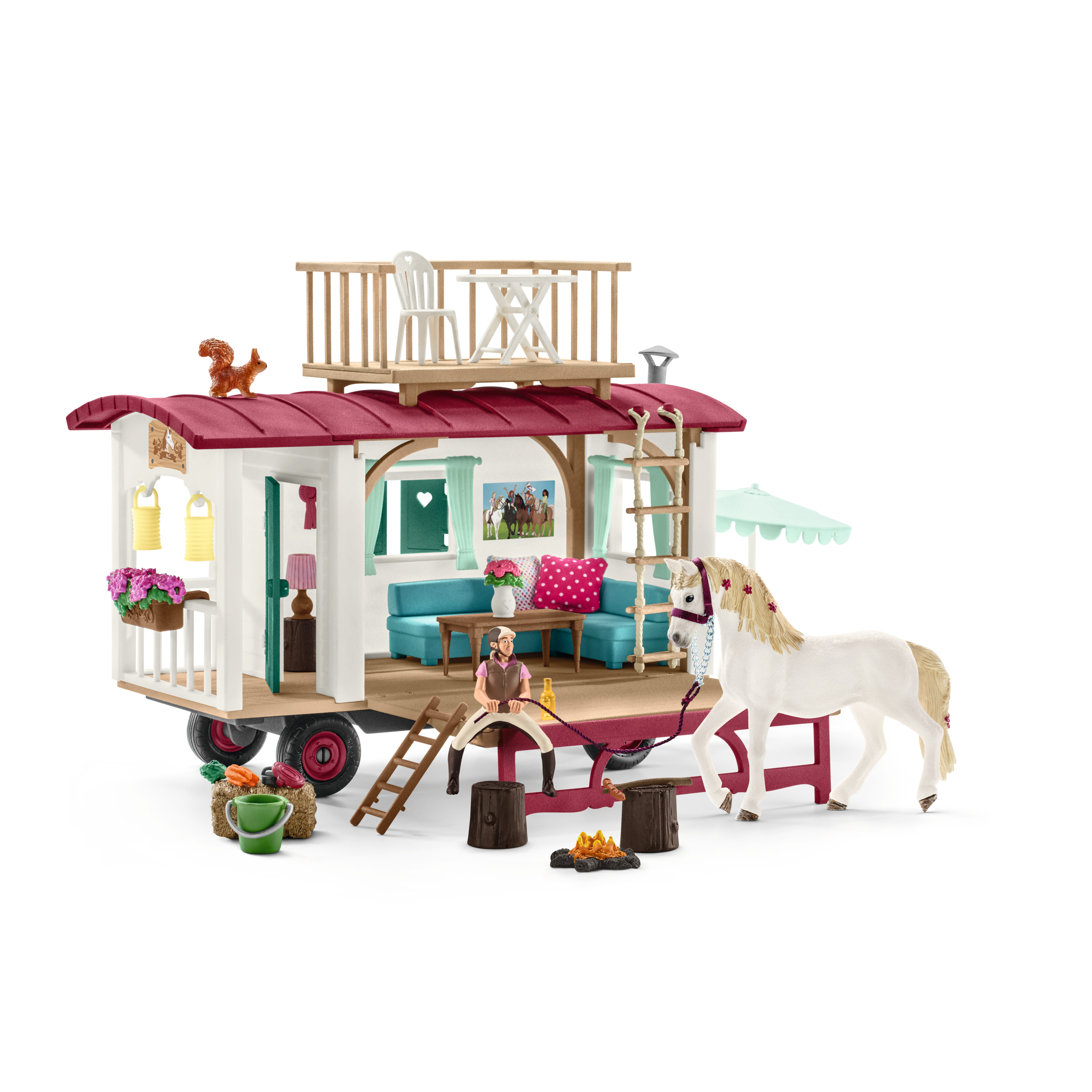 Schleich Horse Club 42415 Caravan for Secret Club Meetings