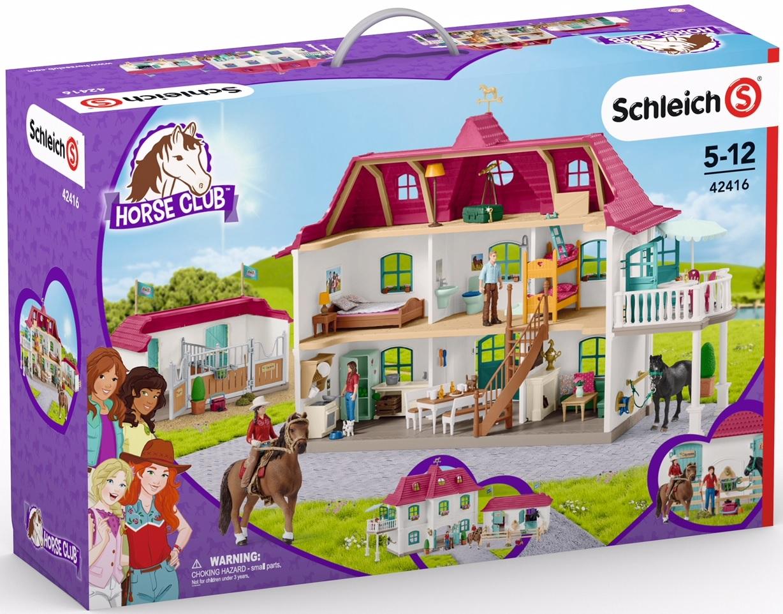 Ans 42485 Schleich Horse Stable Farm World Plastique Jeu Set avec 7 animaux 3