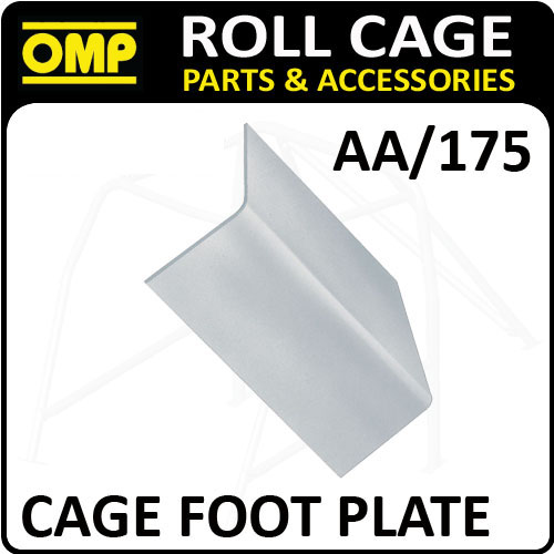 Rally Aa 175 Omp Roll Cage Fixing Quot L Quot Shape Foot Plate 1