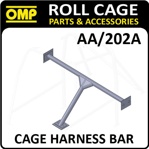 AA/202A OMP ROLL CAGE HARNESS FIXING BAR KIT 40x2mm - FIA APPROVED! RACE/RALLY