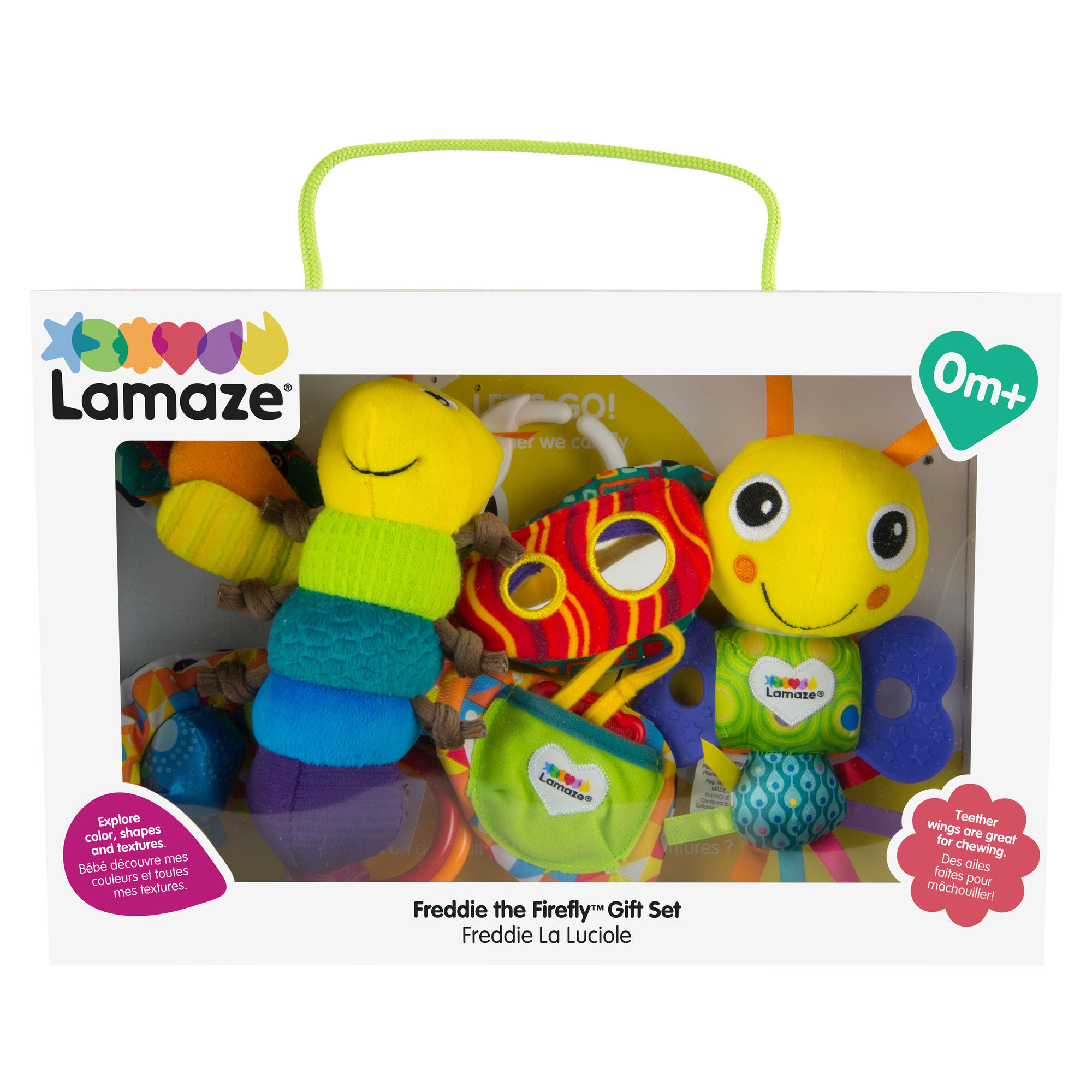 LAMAZE Mini Teether Freddie The Firefly BRAND NEW WITH TAG FREE POST