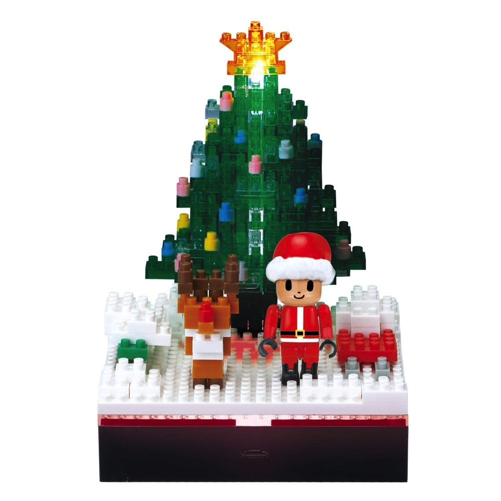 Santa Disney Christmas 2016 Nano Block Mickey Mouse Block Toy