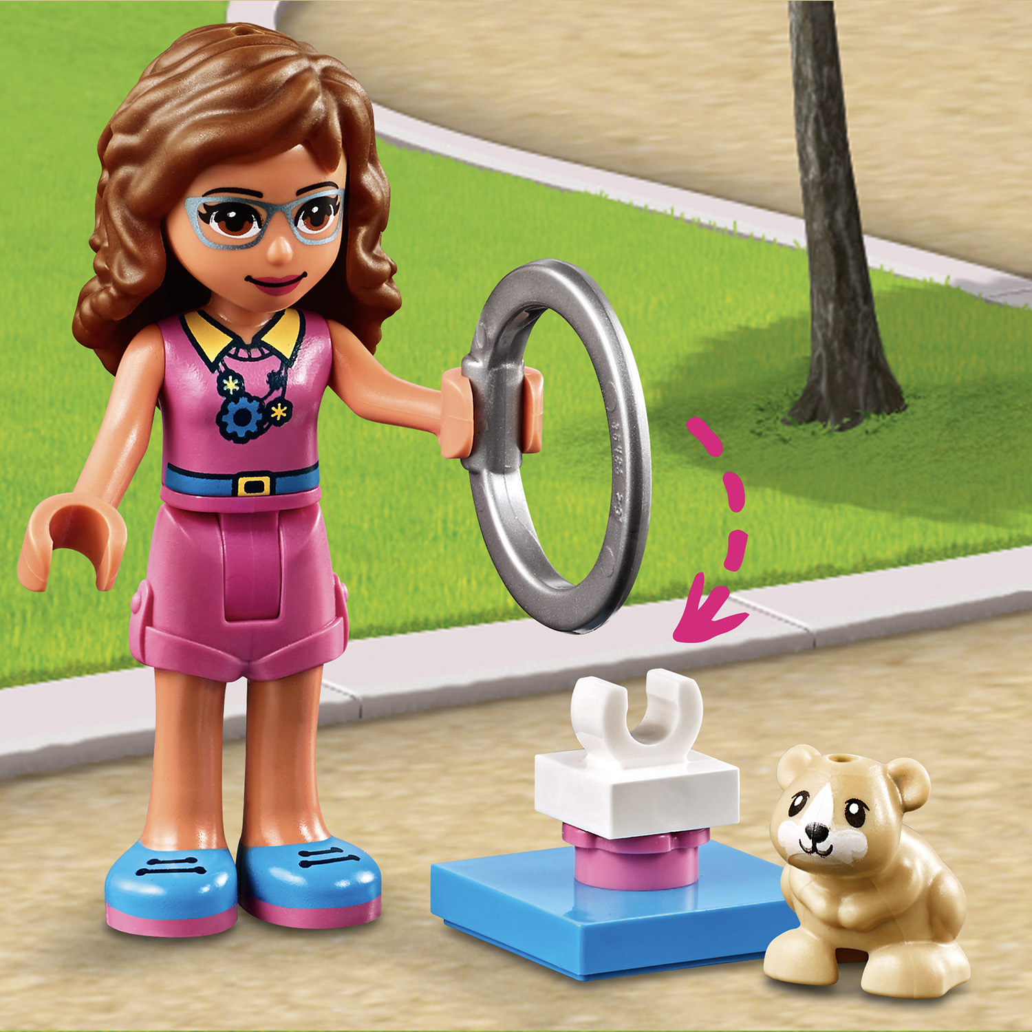41383 LEGO Friends Olivia's Hamster Playground 81 Pieces ...