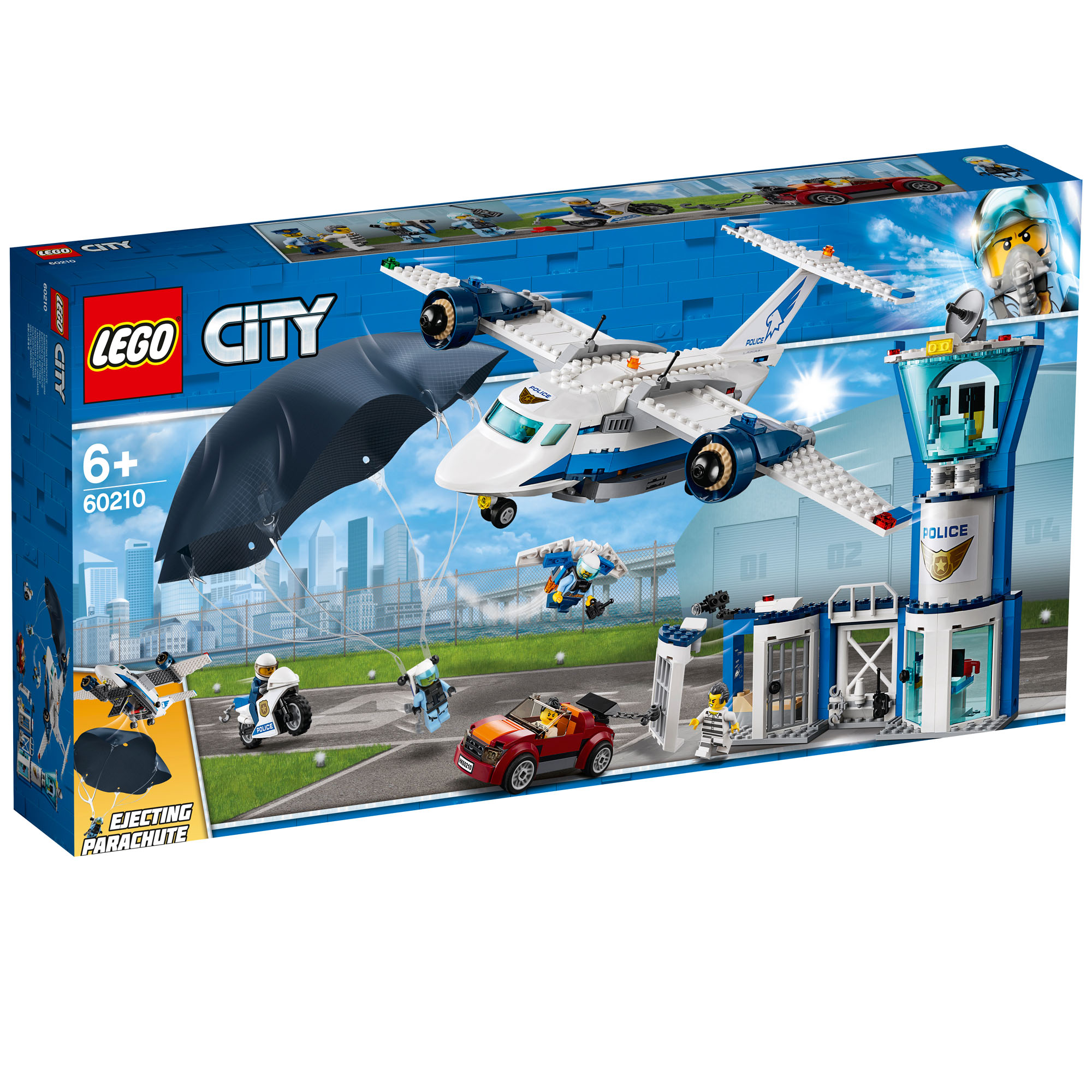Details about 60210 LEGO CITY Sky Police Air Base 529 Pieces Age 6+ New  Release for 2019!