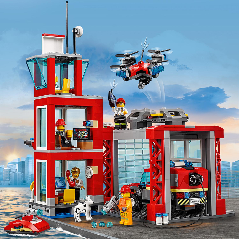 60215 LEGO CITY Fire Station 509 Pieces Age 5+   eBay