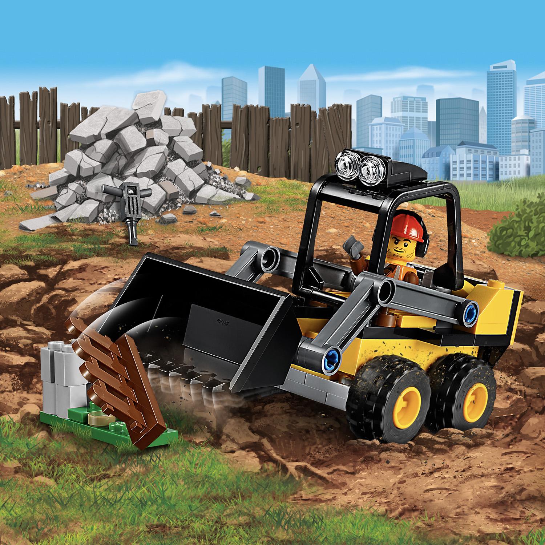 ans nouvelle version pour 2019! 60219 LEGO City Construction Pelleteuse 88 pièces 5
