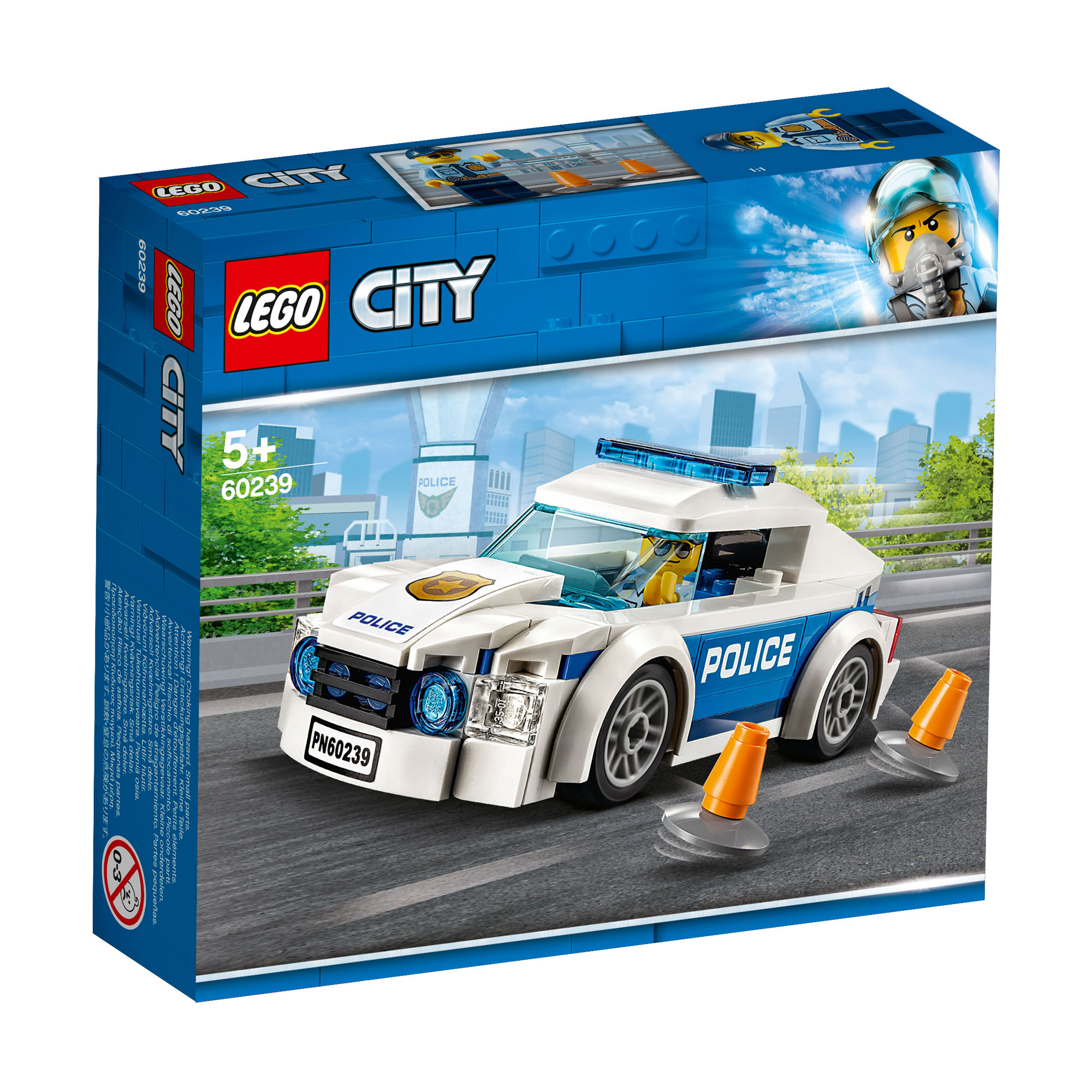 Details about 60239 LEGO CITY Police Patrol Car 92 Pieces Age 5+ New  Release for 2019!