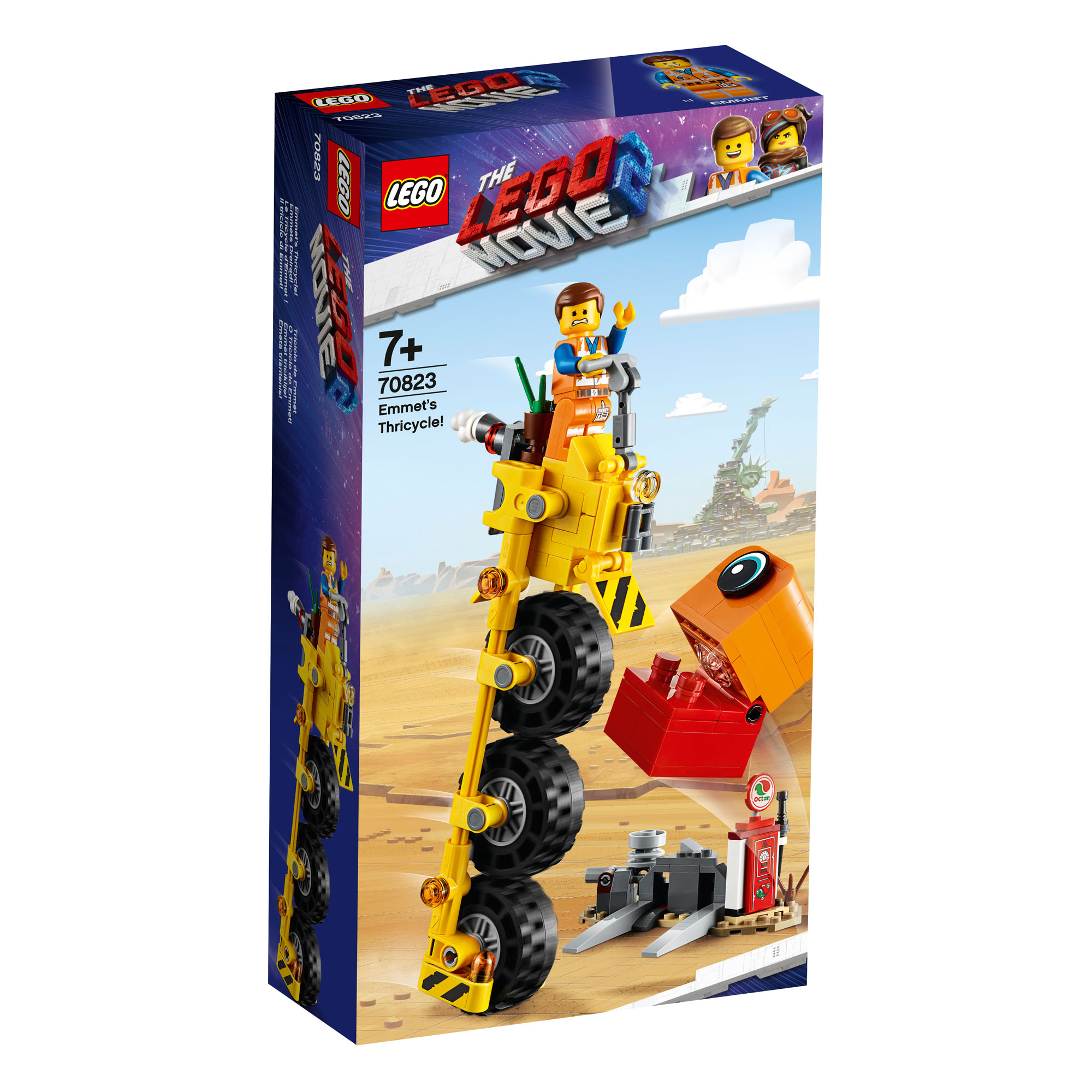 Details about 70823 LEGO The LEGO Movie Emmet's Thricycle! 174 Pieces Age  7+ New Release 2019!