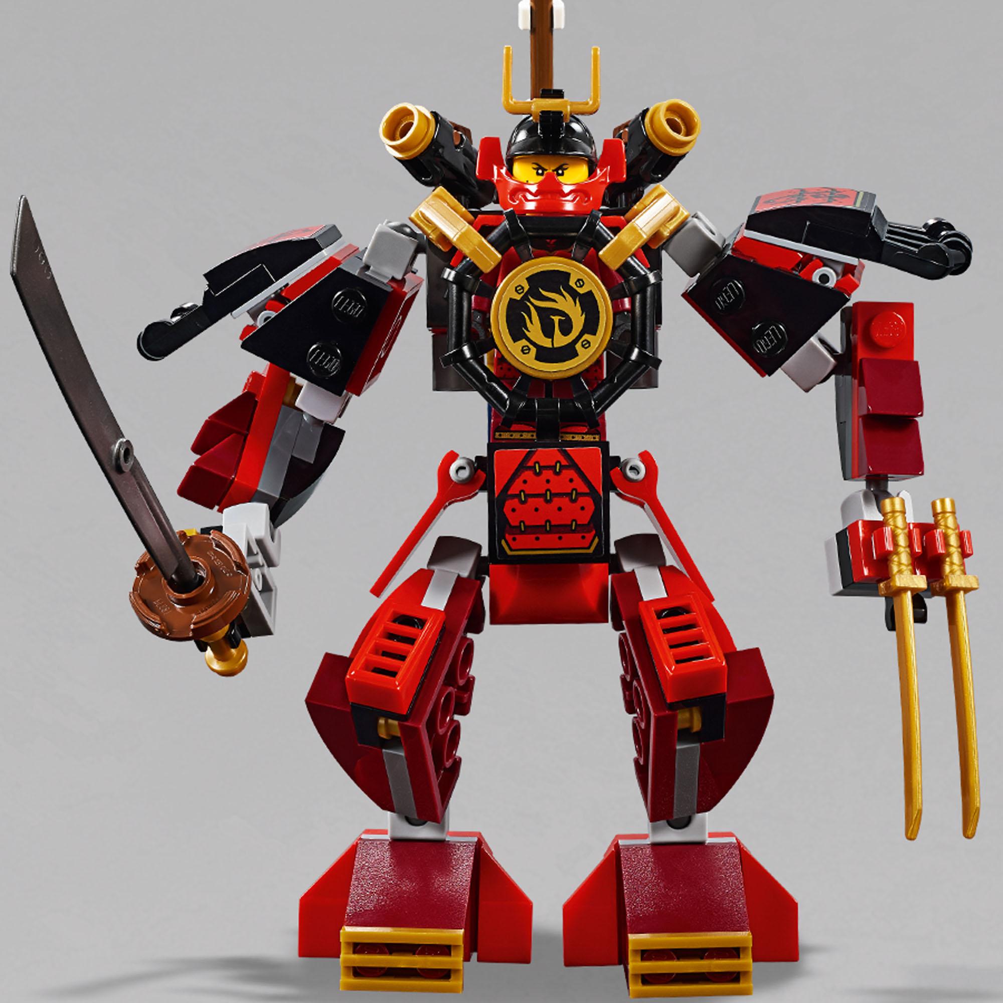 70665 LEGO Ninjago The Samurai Mech 154 Pieces Age 7 ...