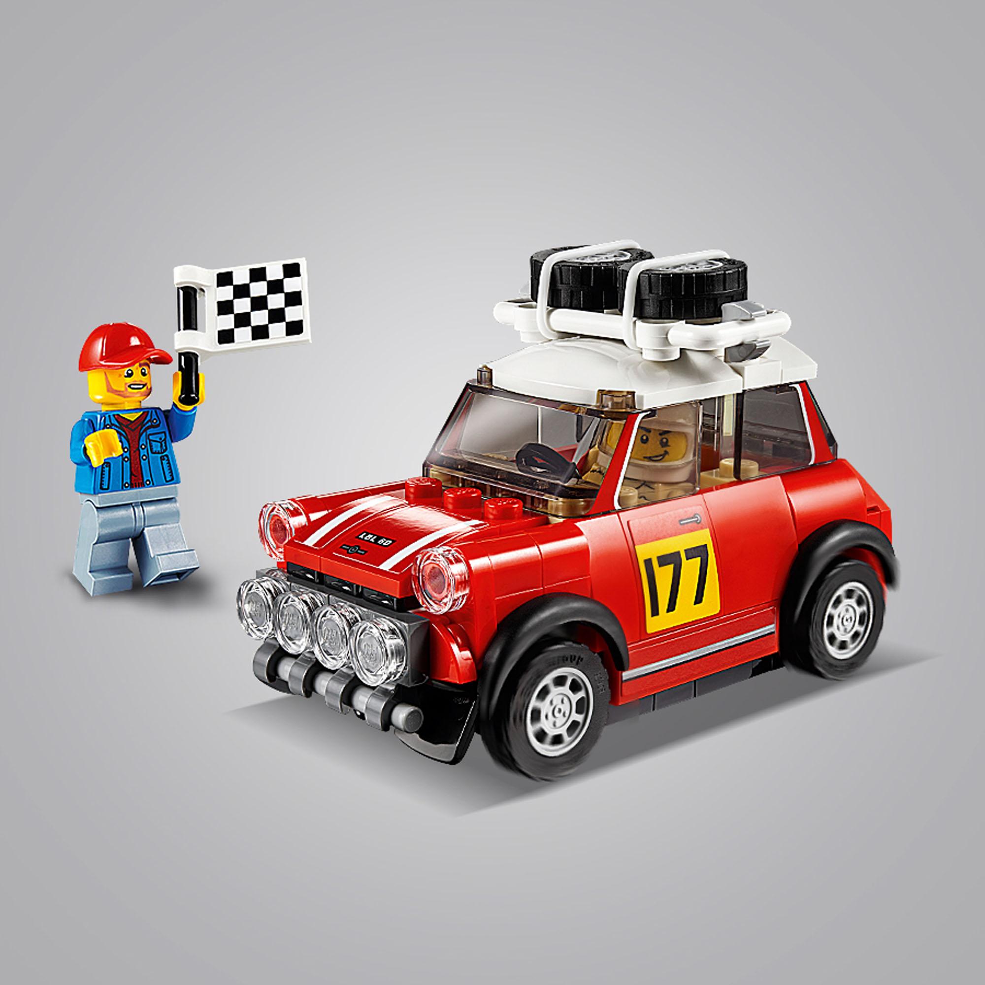 75894 LEGO Speed Champions 1967 Mini Cooper S & 2018 MINI ...