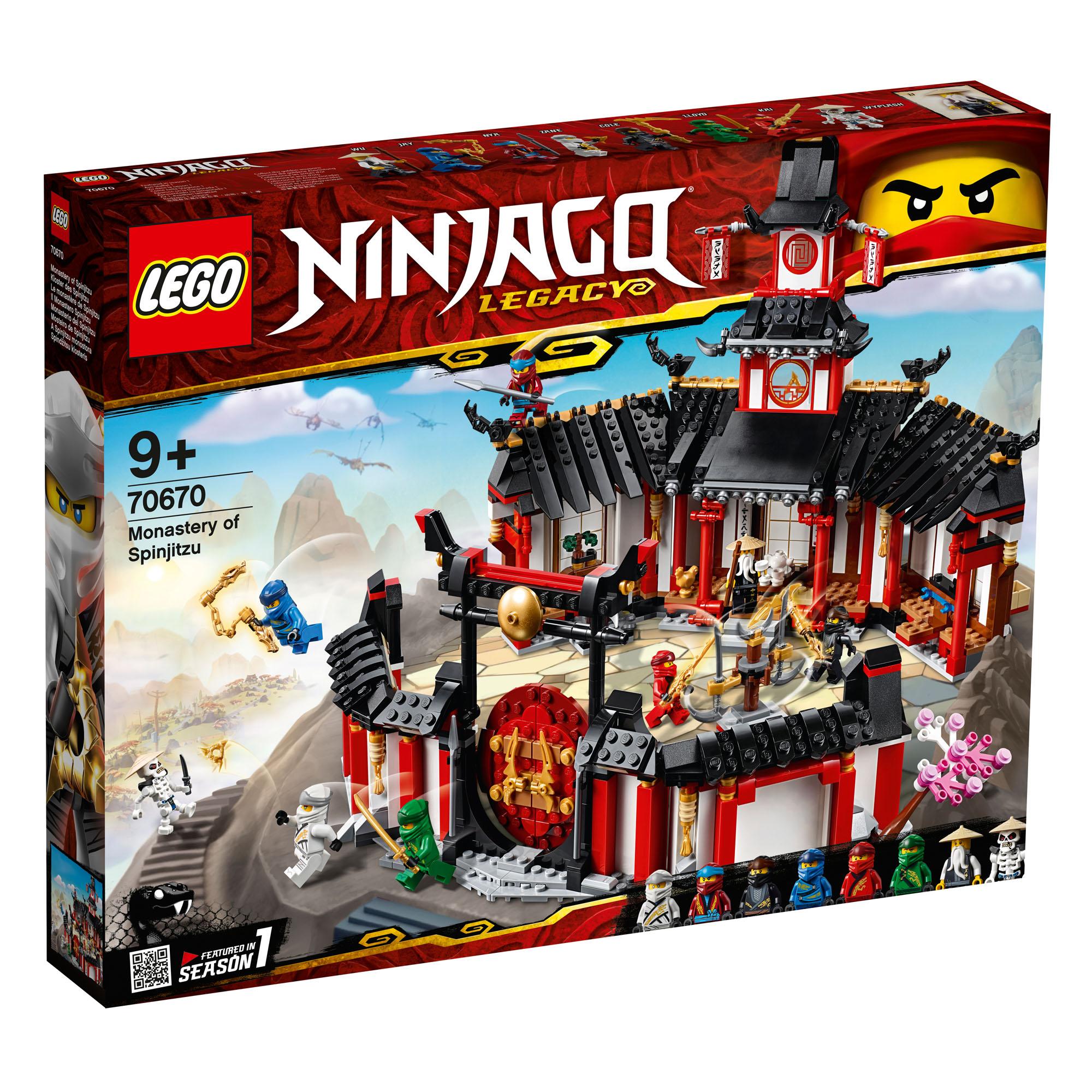 9 1070 stycken av Lego Ninjago Spinjitzu Ålder