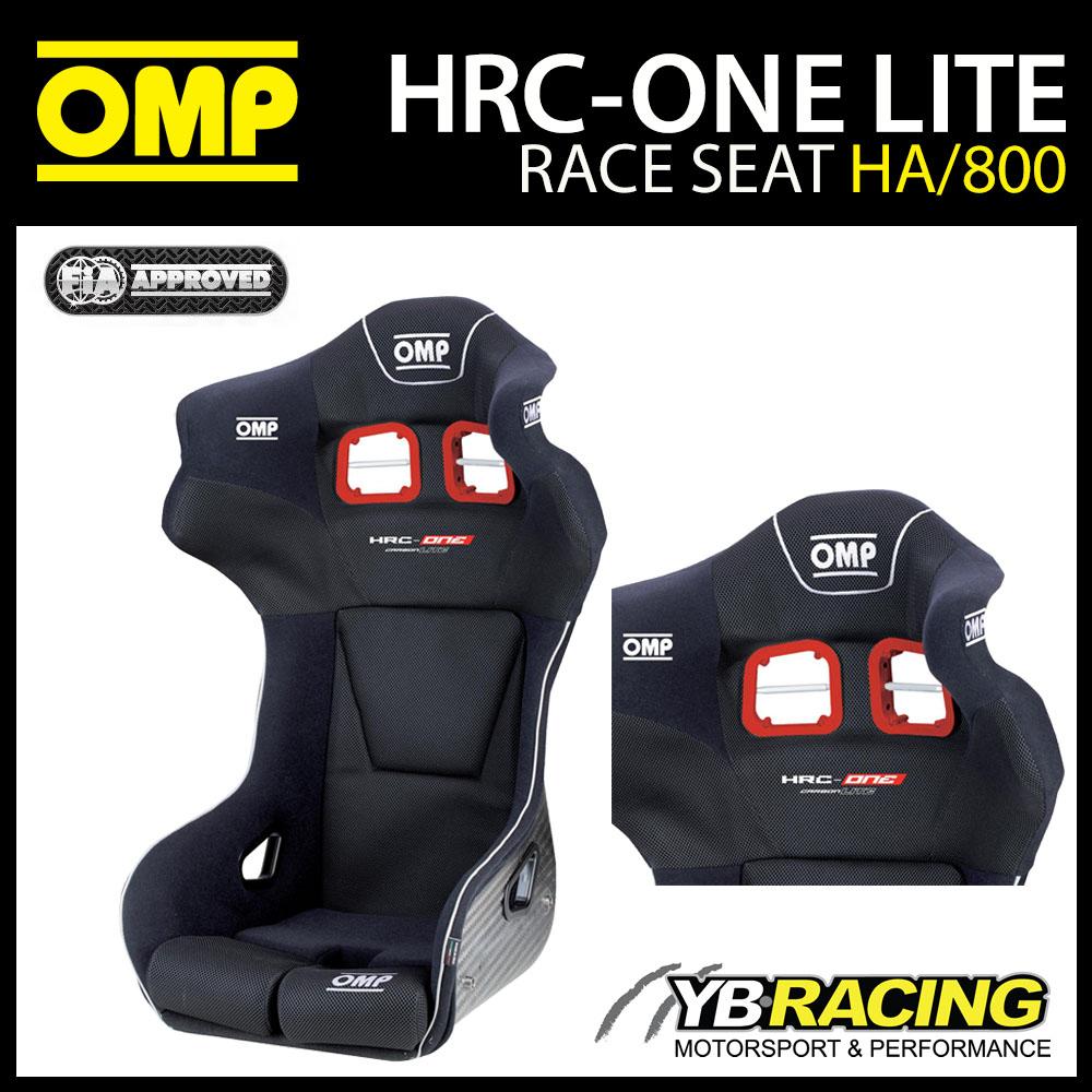 HA/800/N OMP HRC-ONE LITE ULTRA LIGHTWEIGHT CARBON FIBRE RACE SEAT FIA 8862-2009