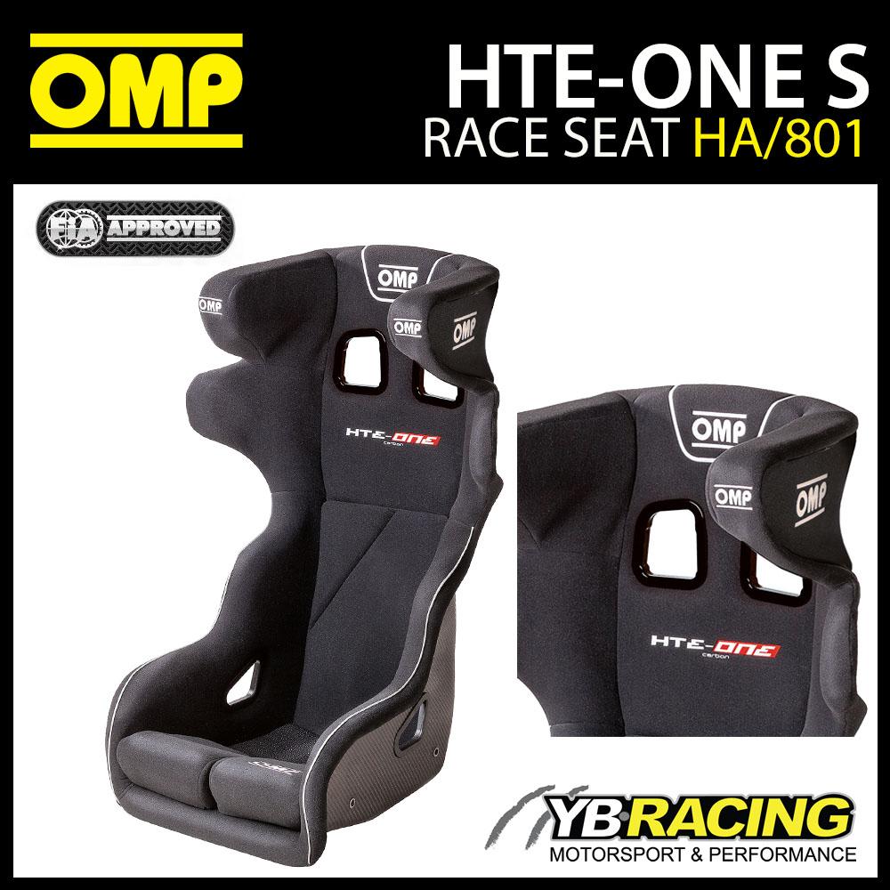 HA/801/N OMP 'THE-ONE S' RACE SEAT CARBON FIBRE PROFESSIONAL MOTORSPORT
