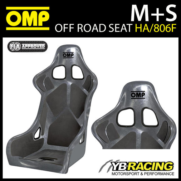HA/806F/N OMP OFF-ROAD RACING RALLY SEAT FIA 8855-1999 LIGHTWEIGHT FIBREGLASS