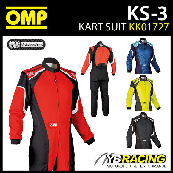 KK01727 OMP KS-3 KART SUIT