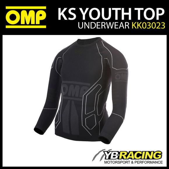 KK03023 OMP KS YOUTH TOP KARTING T-SHIRT