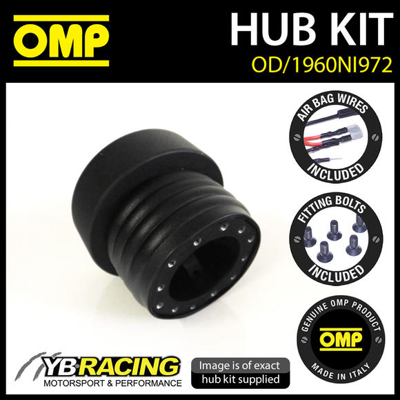 OD/1960NI972 OMP RACING STEERING WHEEL HUB BOSS fits NISSAN 350Z 2003-2009