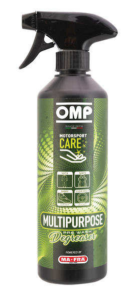 OMP Racing Multipurpose Degreaser Spray Race Suits / Seats / Boots / Leather