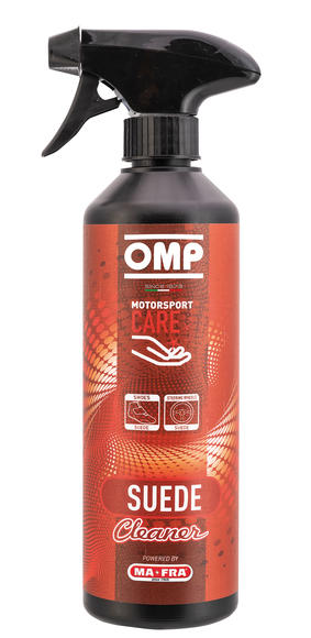 OMP Steering Wheel Cleaner Spray 500ml for Suede Leather - Made in Italy