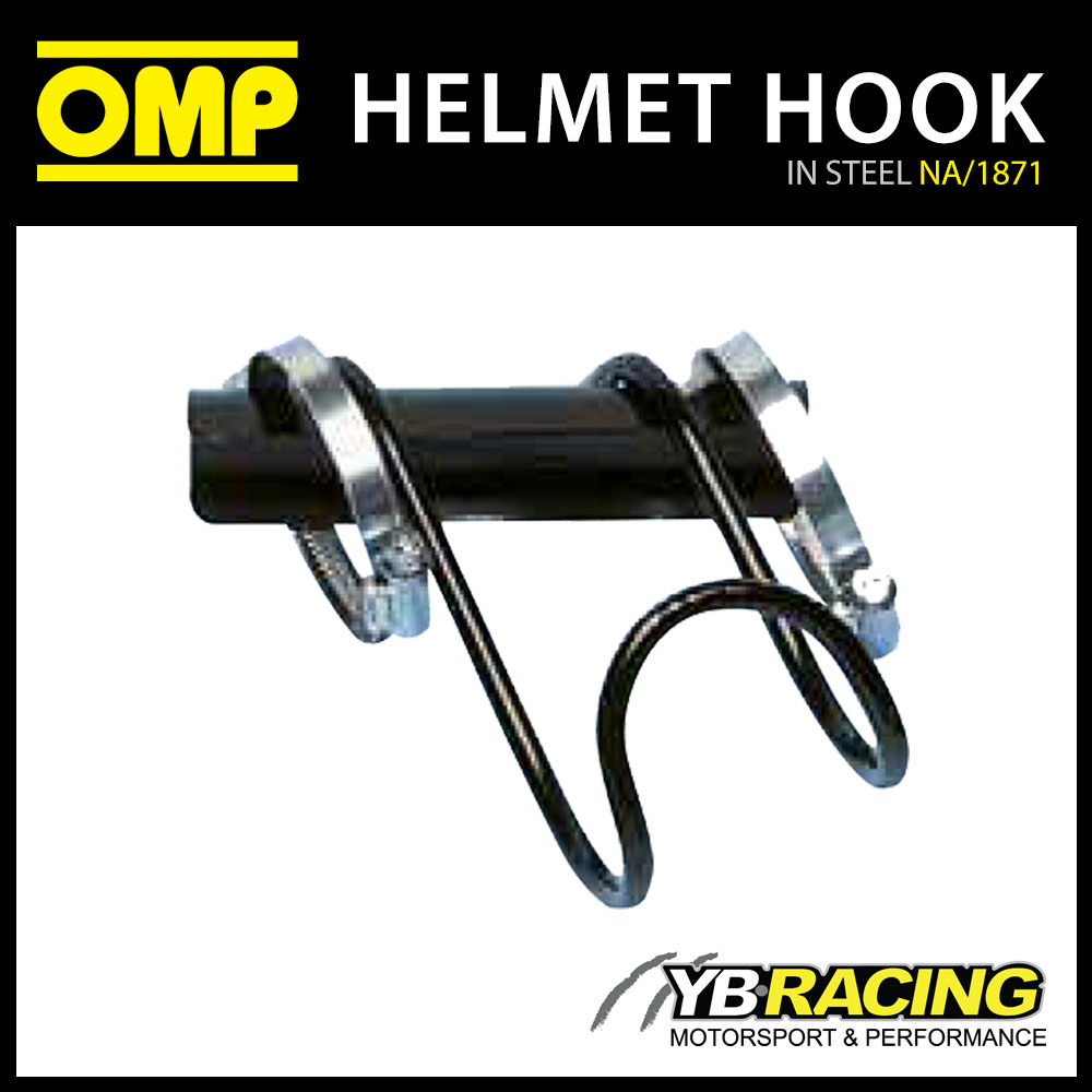 NA/1871 OMP RACING IN CAR HELMET HOOK HOLDER STORAGE FOR RACE & RALLY CARS