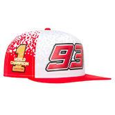2018 Marc Marquez #93 World Champion Cap Level 7 Adult Baseball Trucker Hat