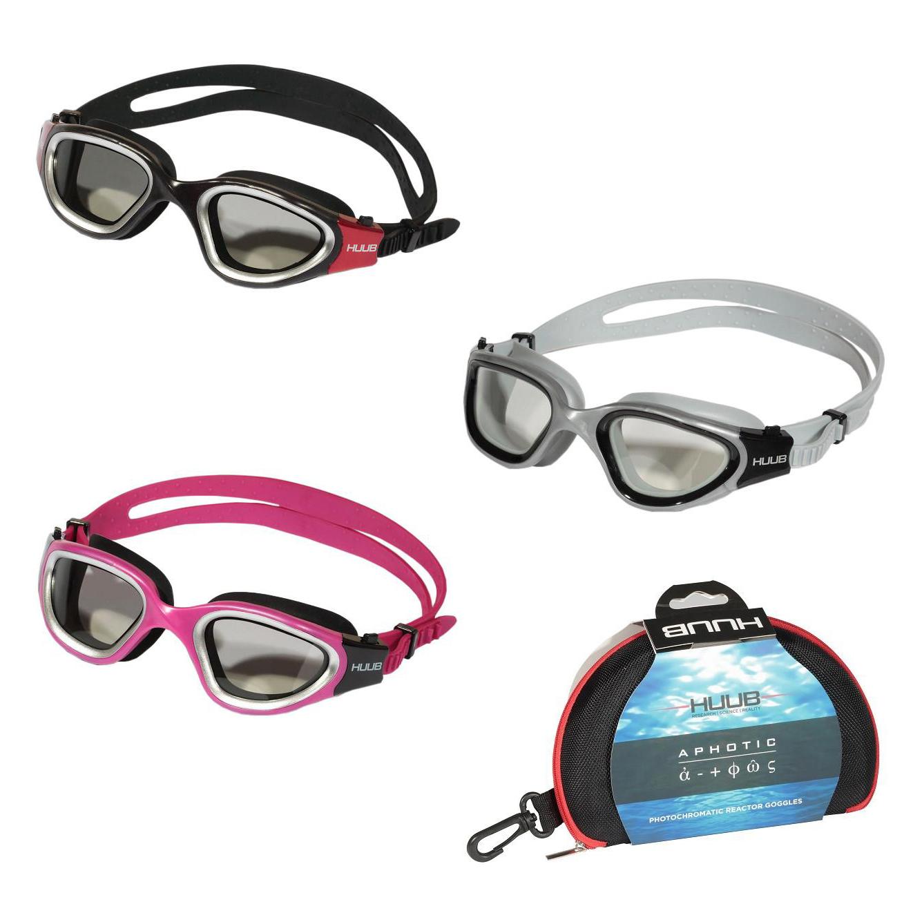 0999010f63c Details about HUUB Aphotic Tri Swim Goggle Swimming Triathlon Open Water  Goggles in 4 Colours