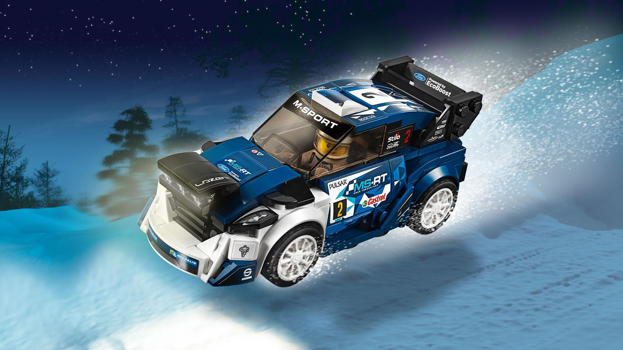 LEGO Speed Champions 75885 Fiesta M-Sport WRC Car Racing Ford Brand New BNISB