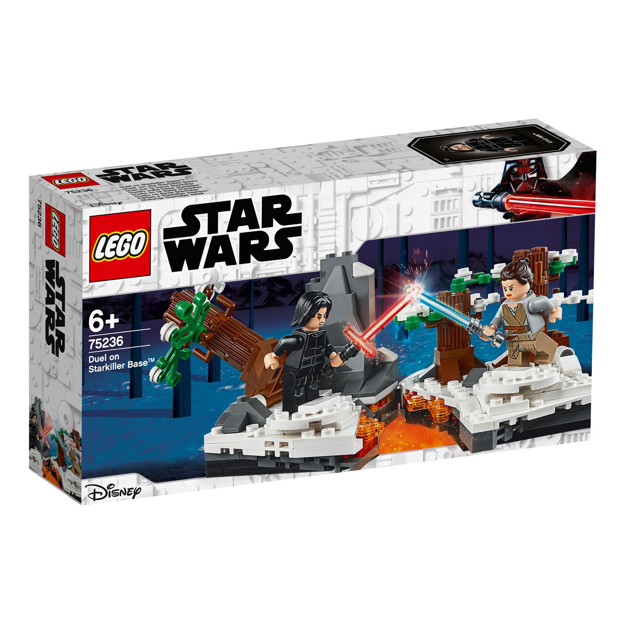75269 lego star wars duel sur Mustafar 208 Pièces Âge 7 Ans