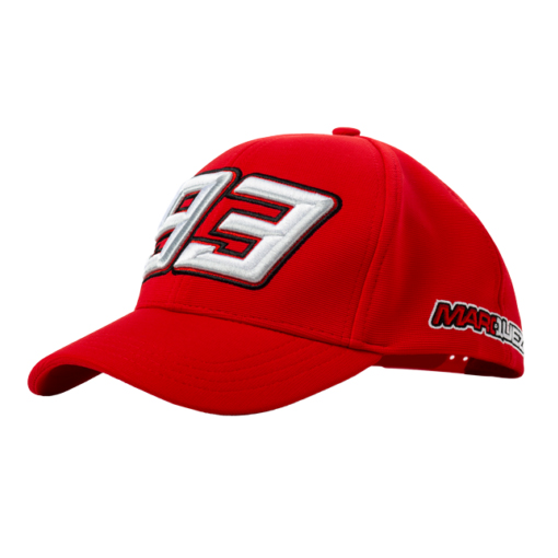 2019 Marc Marquez #93 MotoGP RED Trucker Style Baseball Cap Adult One Size