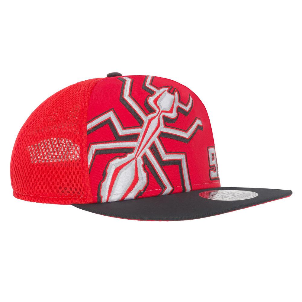 2019 Marc Marquez 93 MotoGP Trucker Style Flat Baseball Cap Ant Logo Red Adult