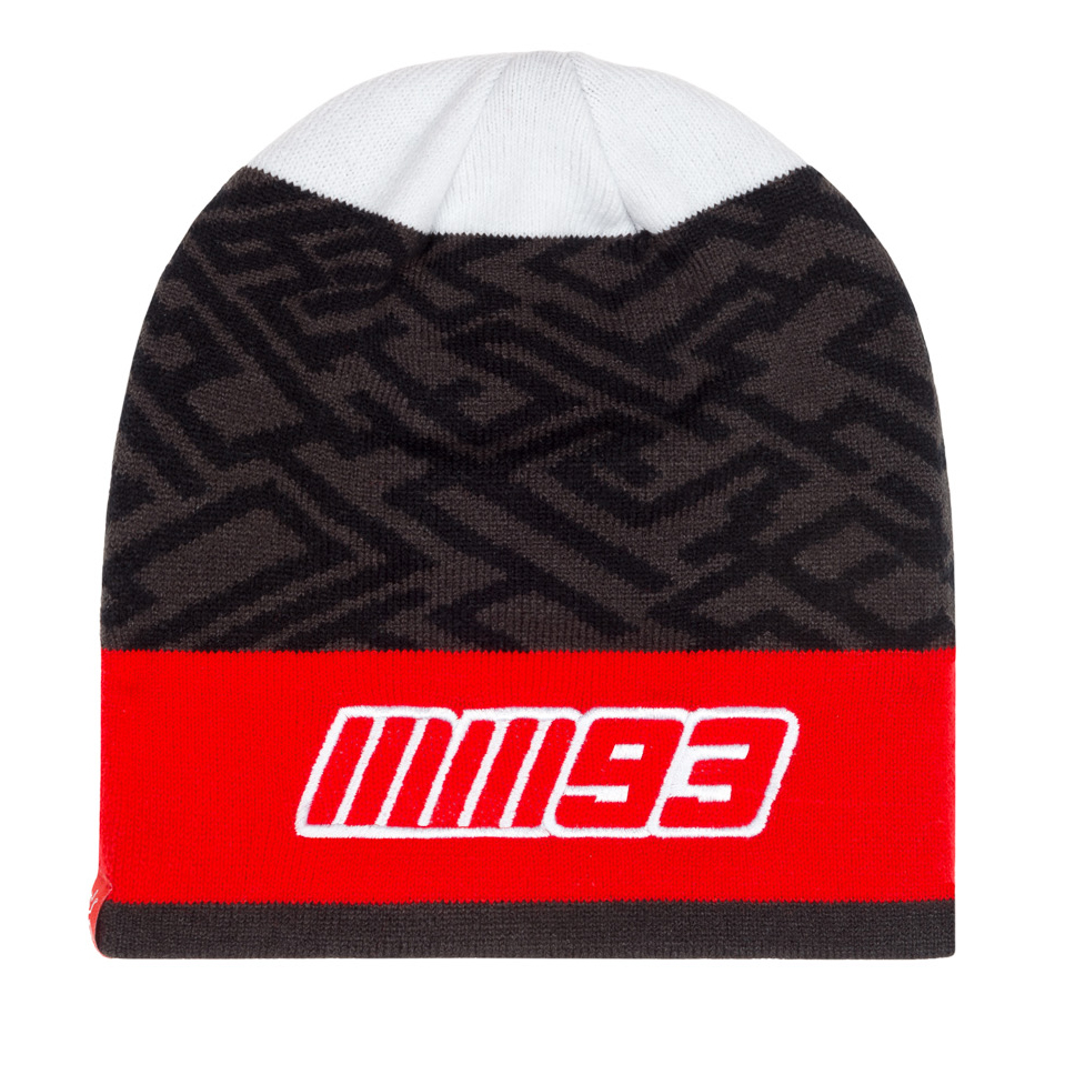 2019 Marc Marquez 93 MotoGP GREY Beanie Hat Warm Winter Knitted Adult One Size