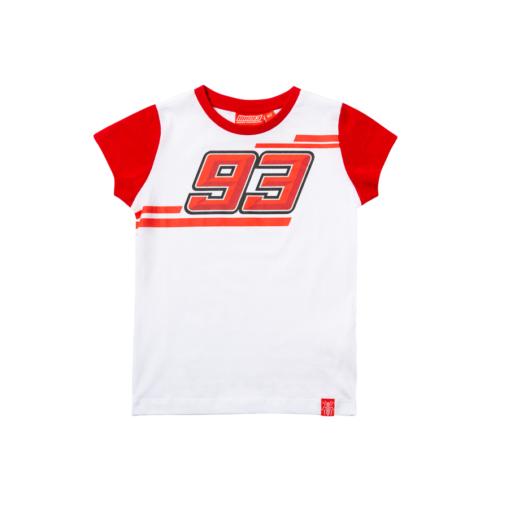 2019 Marc Marquez 93 MotoGP Childrens T-Shirt Tee 100% Cotton Kids Ages 2-11