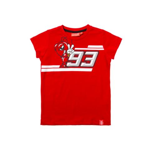 2019 Marc Marquez 93 MotoGP Childrens T-Shirt Tee Cartoon Ant Kids Ages 2-11