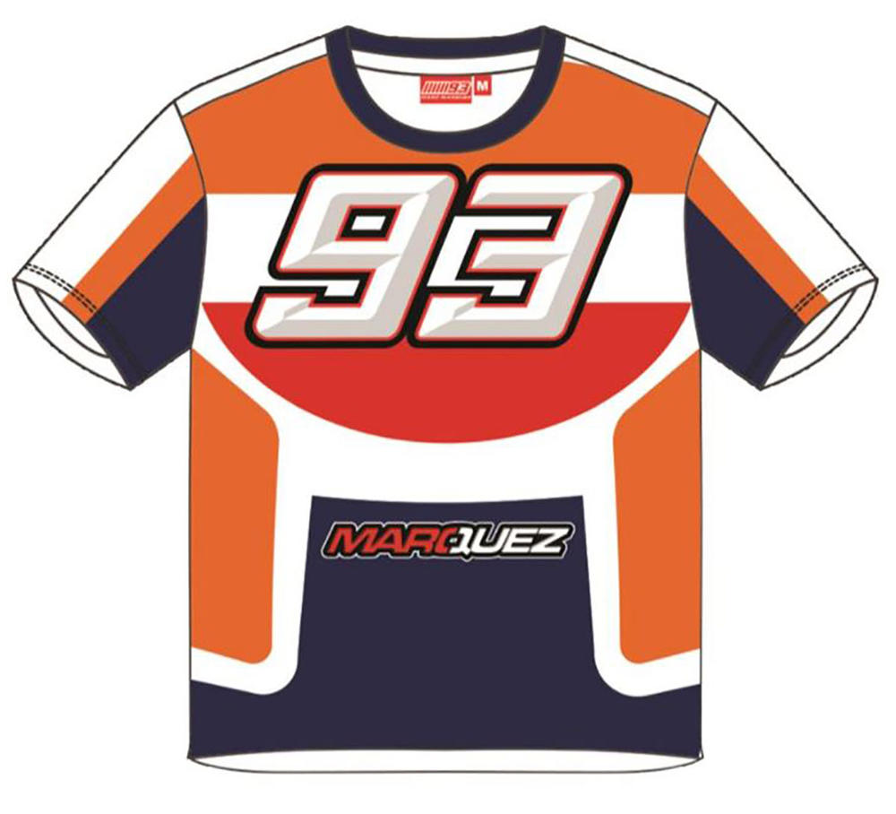 2019 Marc Marquez 93 MotoGP Childrens T-Shirt Tee Kids Ages 2-11 Years