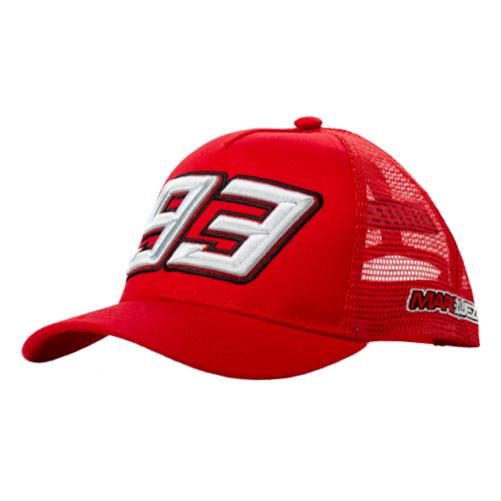 2019 Marc Marquez 93 MotoGP Childrens Baseball Cap #93 Red for Kids Boys Junior